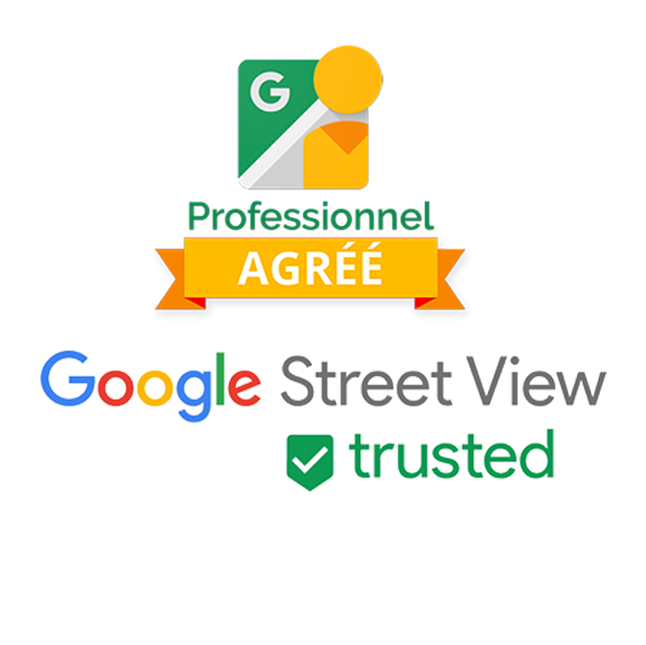 Badge professionnel Google Street View Trusted