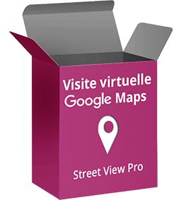 visite virtuelle google Maps pour les professionnels et les entreprises