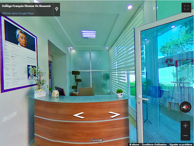 visite virtuelle google maps