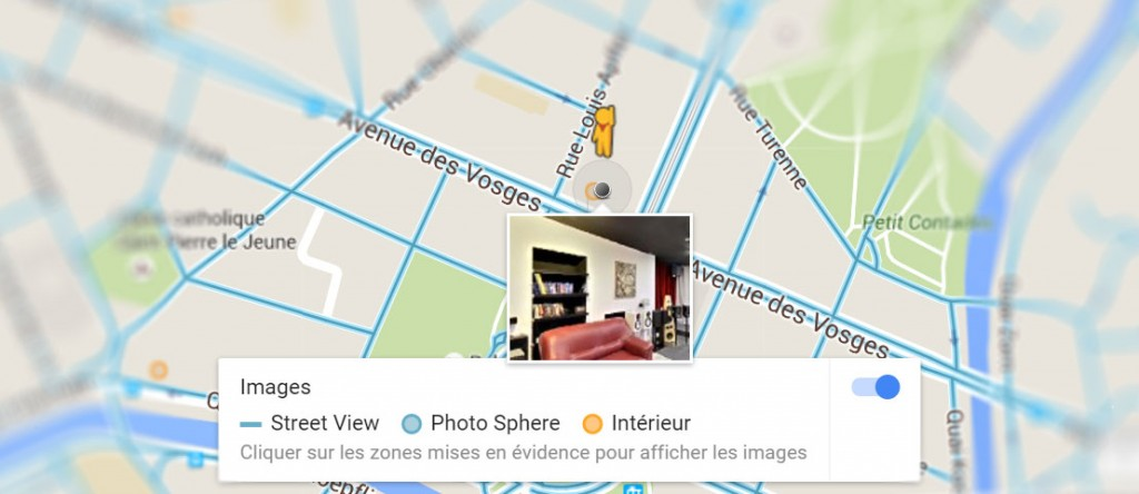 Visite virtuelle Google Street View