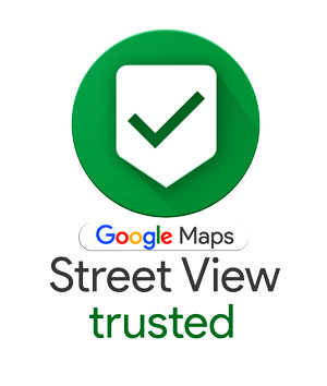 Badge Google Street View trusted