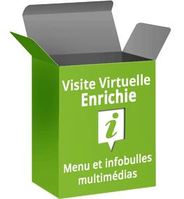 visite virtuelle Google enrichie menu et infobulles multimédias